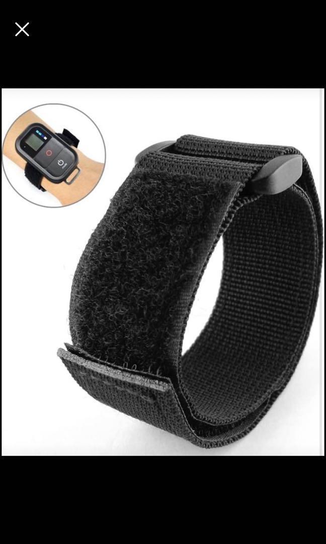Brand new Nylon Wrist Strap Armband Remote Control Strap for GoPro Hero 3 + 3 Camera (Black)