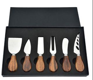 Cheese / Cake Knives Gift Set of 6
