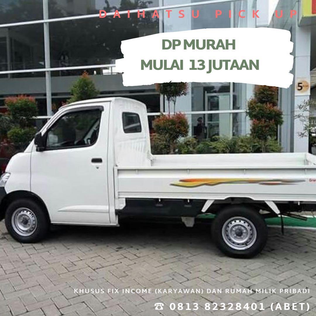 DP RINGAN Daihatsu Pick Up mulai 13 jutaan. Daihatsu Fatmawati