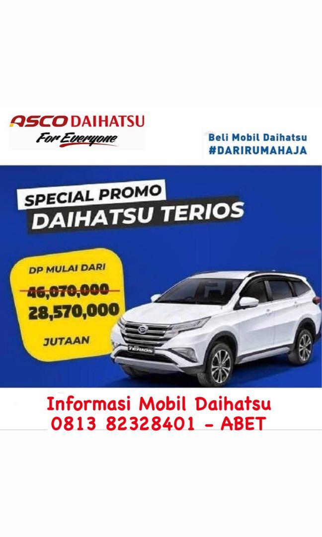 DP RINGAN Daihatsu Terios mulai 29 jutaan. Daihatsu Fatmawati