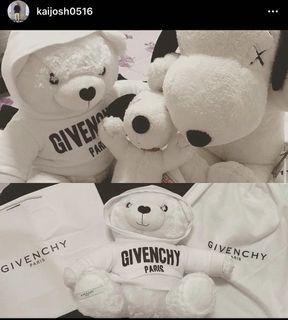 Givenchy 小熊 娃娃 玩偶 Snoopy Kaws Uniqlo