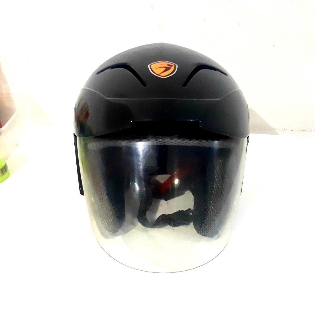 Helm Touring GARDIO Original Black Glossy