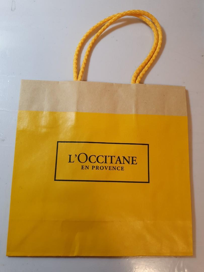 Loccitane paperbag