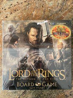 Lord Of The Rings The Return Of The King Board Game Roseart - NEW, SEALED!