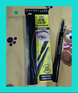 Maybelline pensil alis eyebrow  define and blend natural