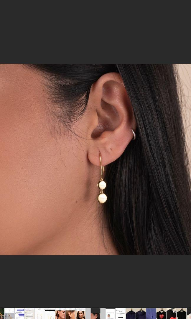 Mejuri Dot Earrings