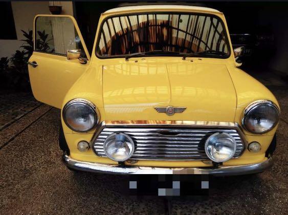 Morris mini 1976 matic