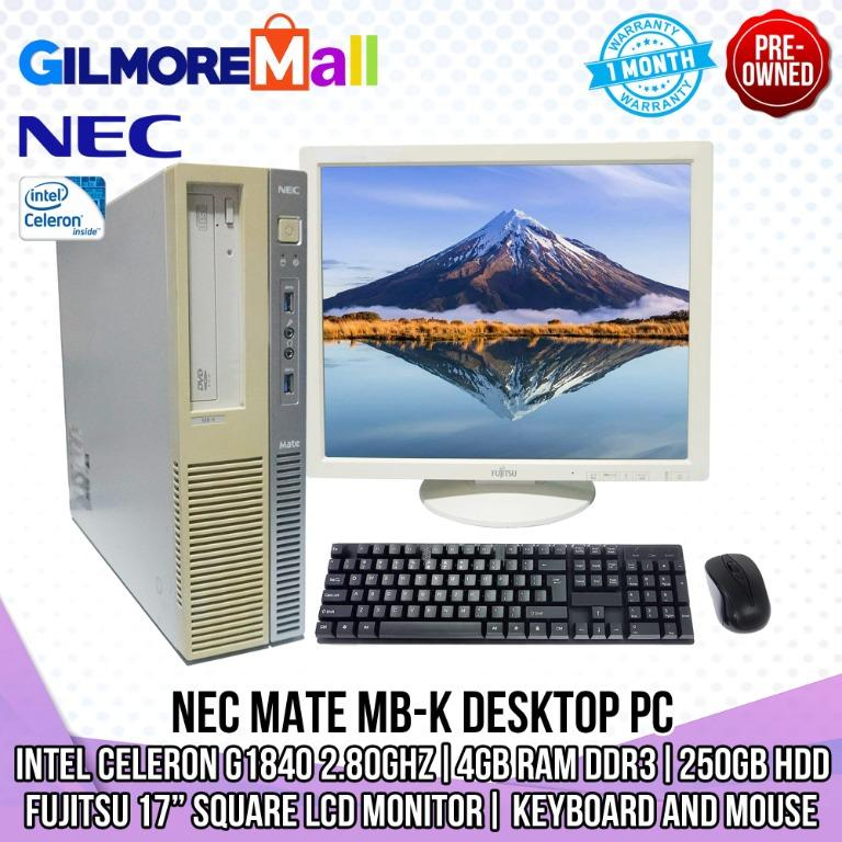 Nec Mate Mb K Electronics Computers Desktops On Carousell
