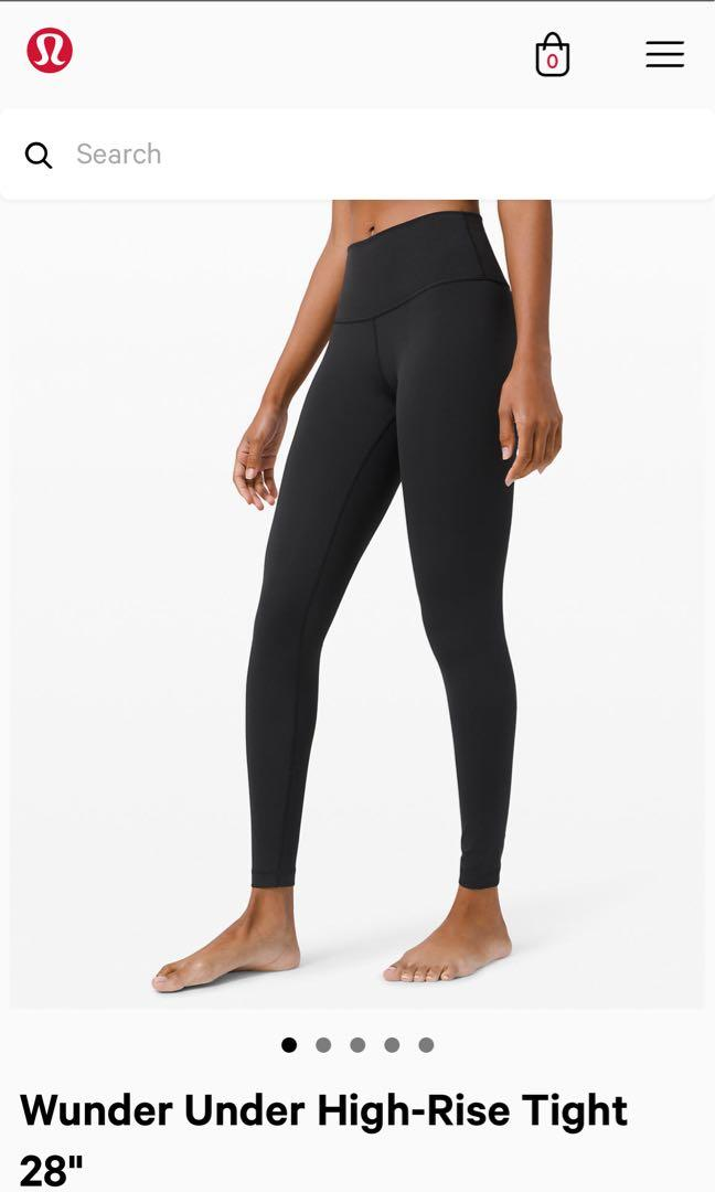 New Black Lululemon Leggings
