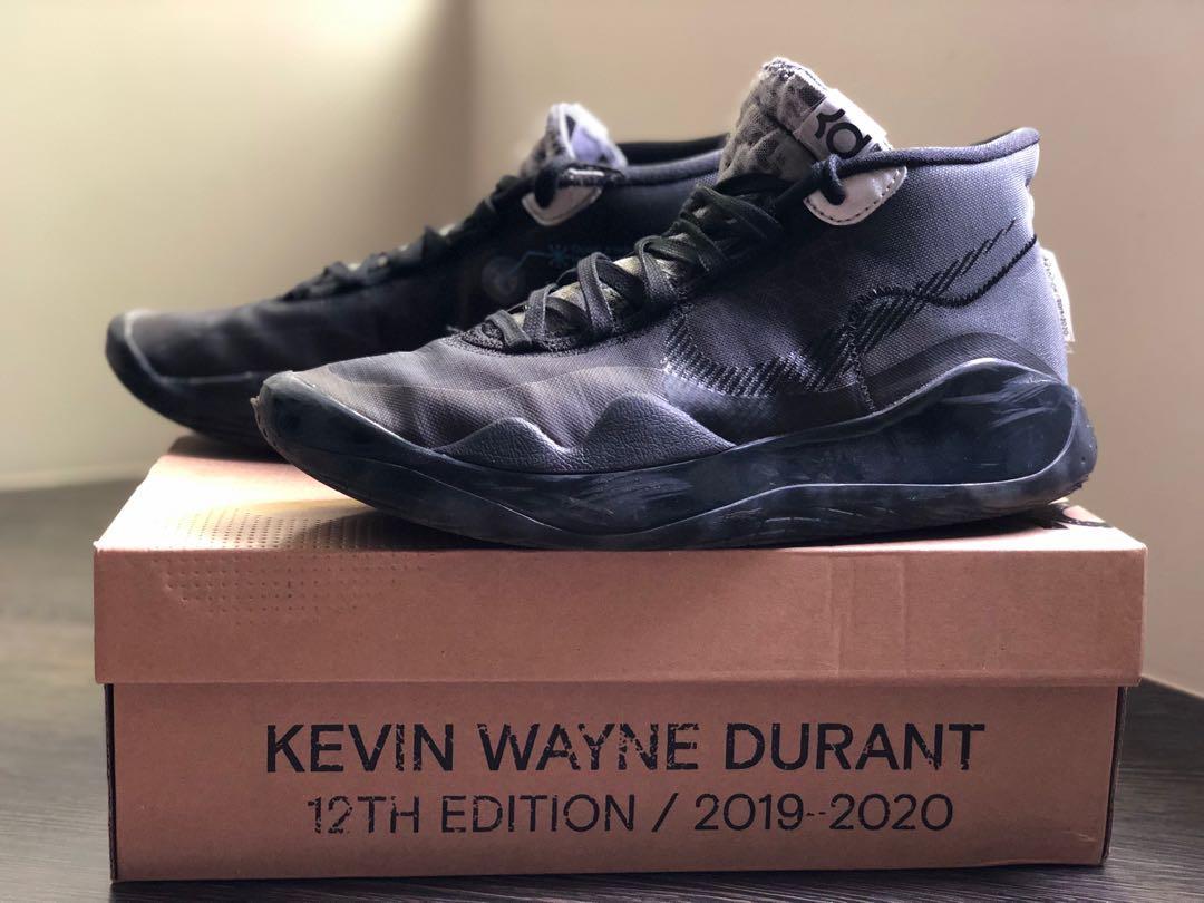 Nike KD12 男籃球鞋 Size: US8號(26cm)