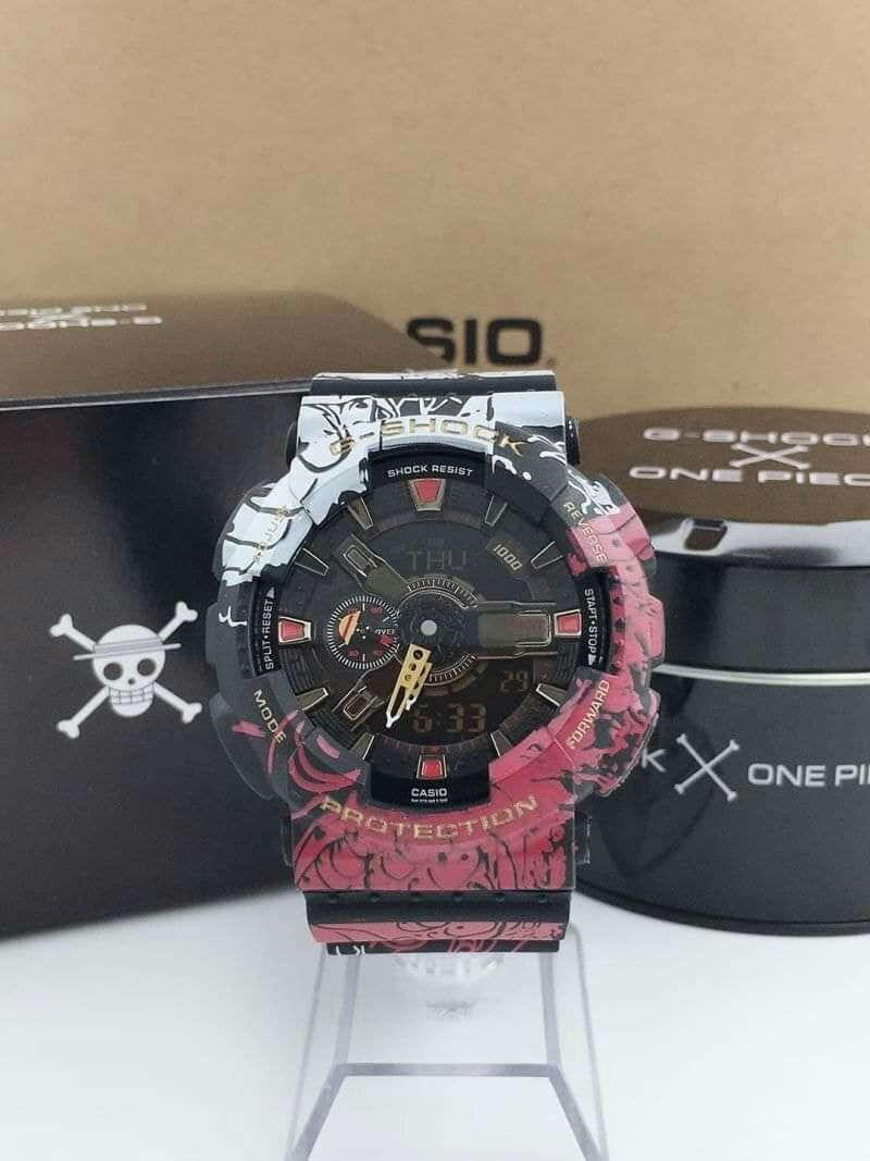 One piece( wanted) g-shock watch