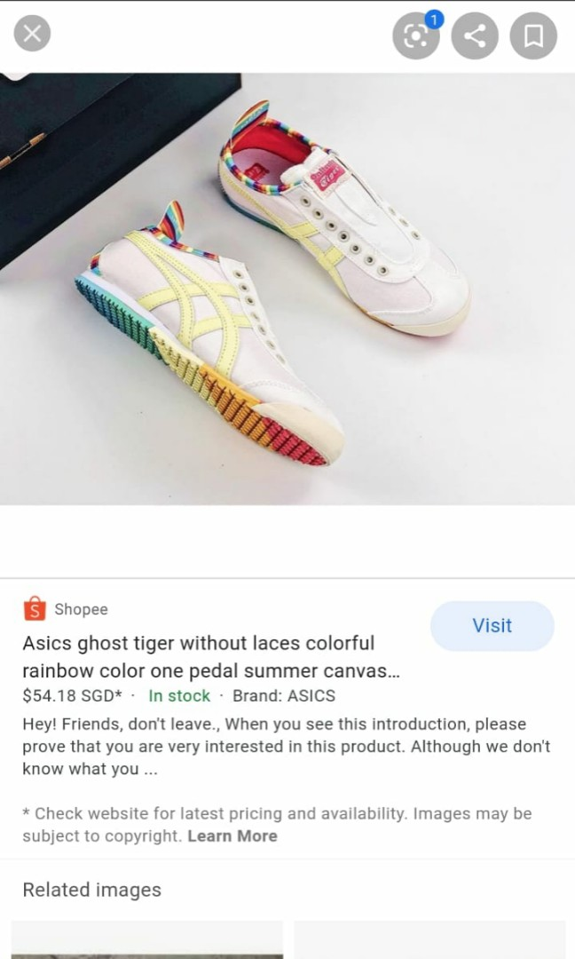 Onitsuka Tiger Rainbow Ghost Tiger BN