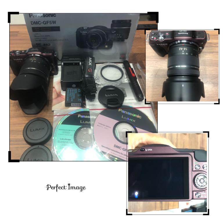 Panasonic GF5 + 14-42 + Hood + UV 二手