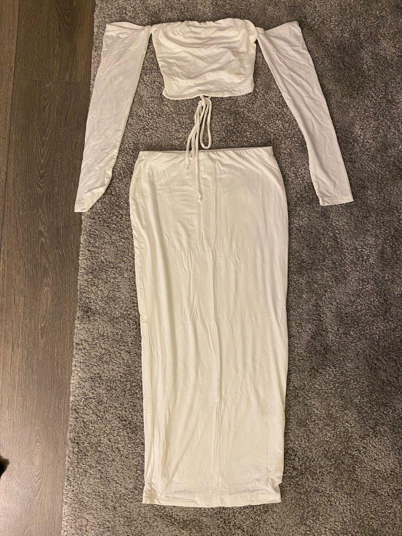 Posh Shop LA Matching Skirt Set