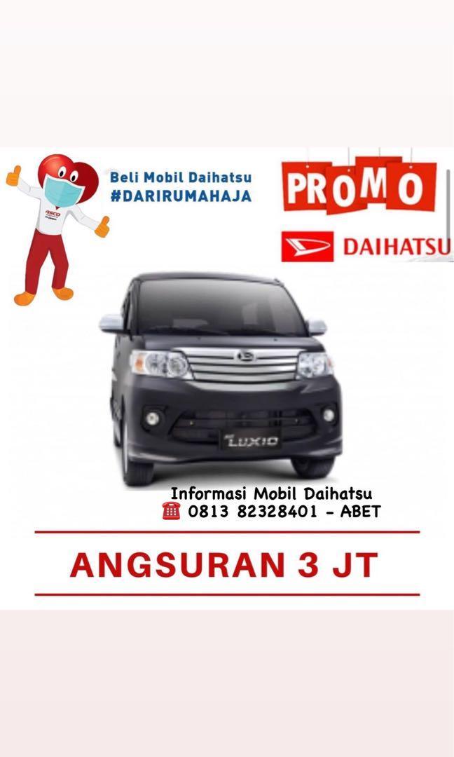 PROMO DP RINGAN Daihatsu Luxio mulai 22 jutaan. Daihatsu Fatmawati