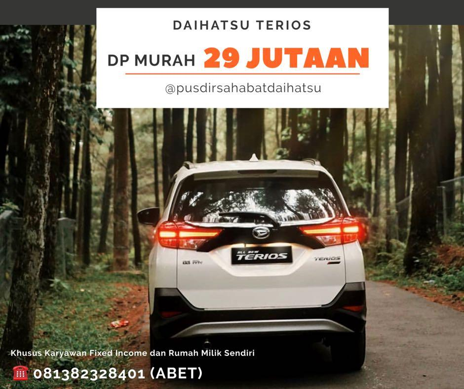 PROMO DP RINGAN Daihatsu Terios mulai 29 jutaan. Daihatsu Fatmawati