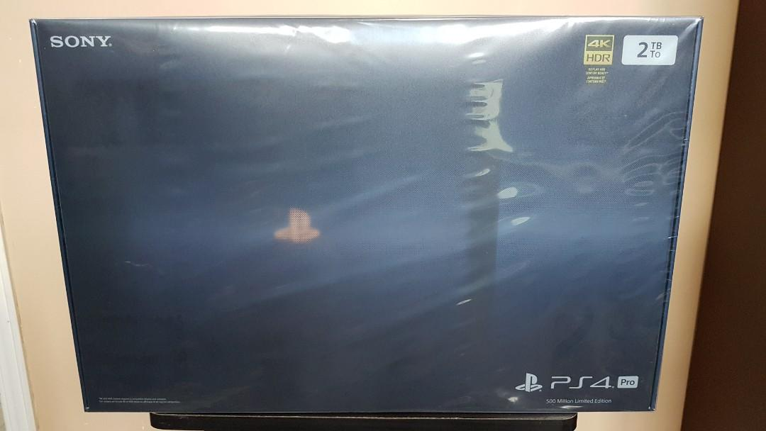 PS4 Pro 500 Million Limited Edition *SEALED*