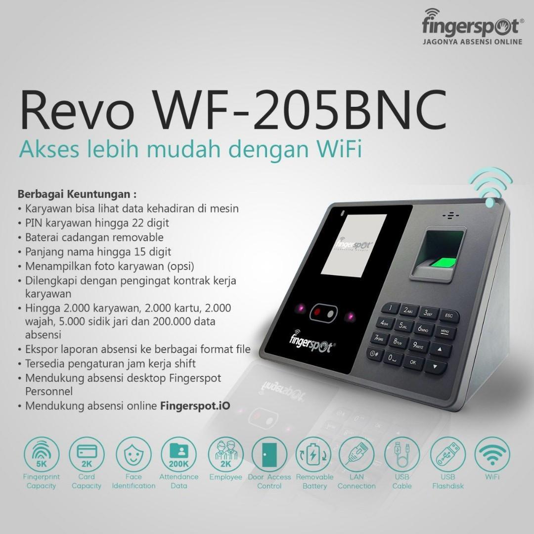 REVO WF 205 BNC