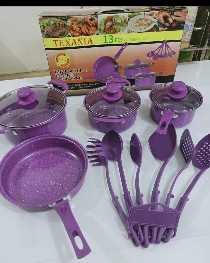 Set Kitchen Purple