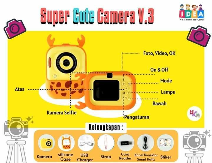 Smart cute camera