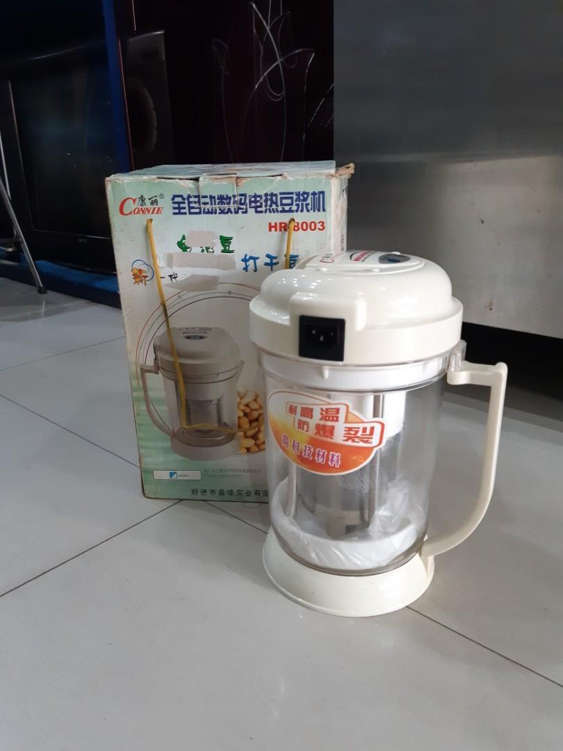 Soya Bean Maker 1.3L, Alat buat susu kedelai, praktis tanpa ampas