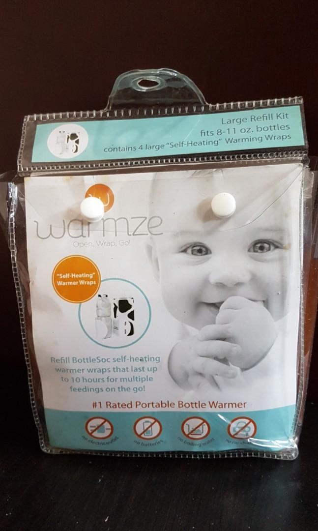 Warmze Portable Bottle Warmer Large Refill Kit