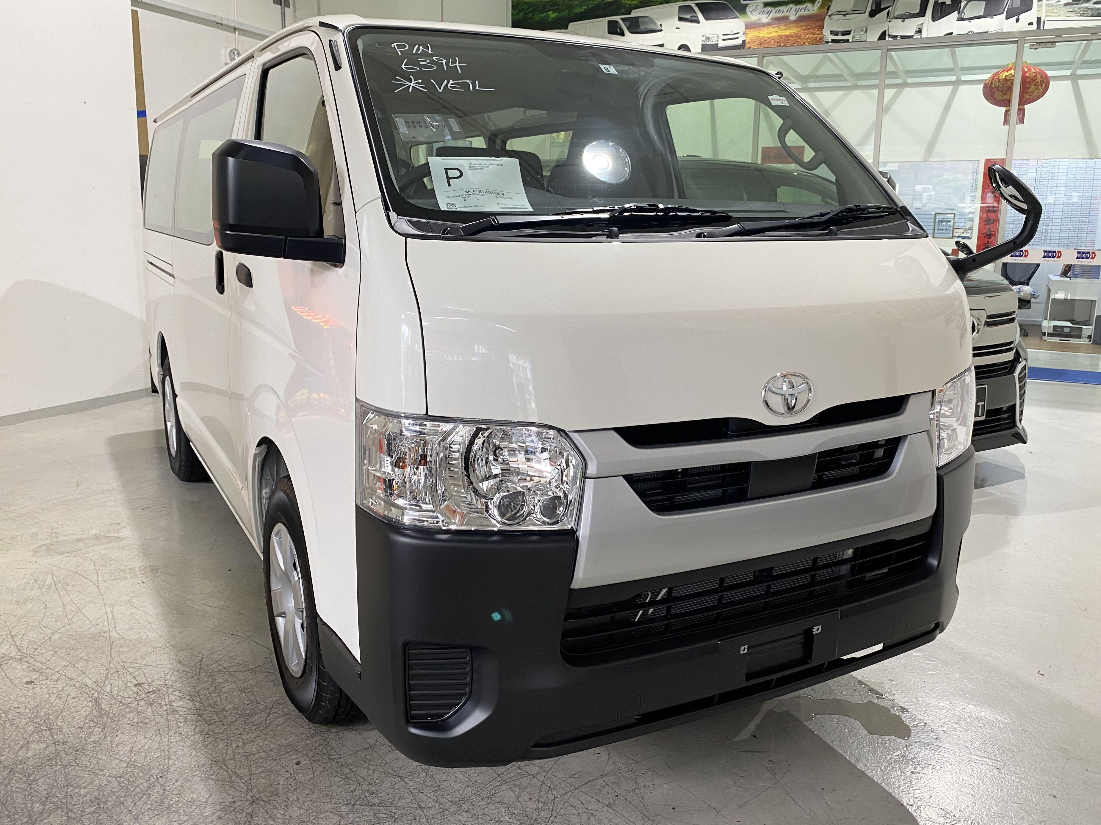 2020 Facelifted New Toyota Hiace 2.8 Auto