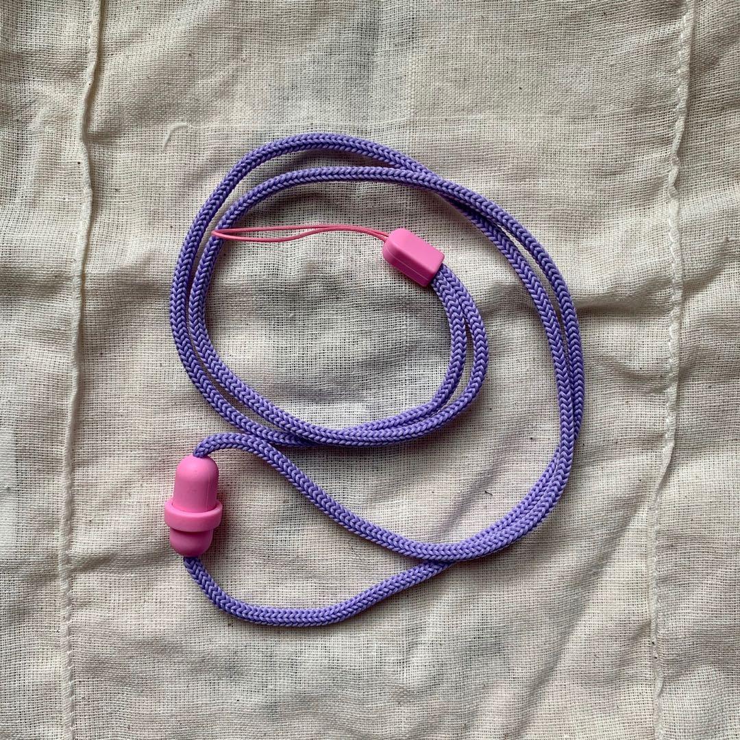 粉紫色手機掛繩🎀
