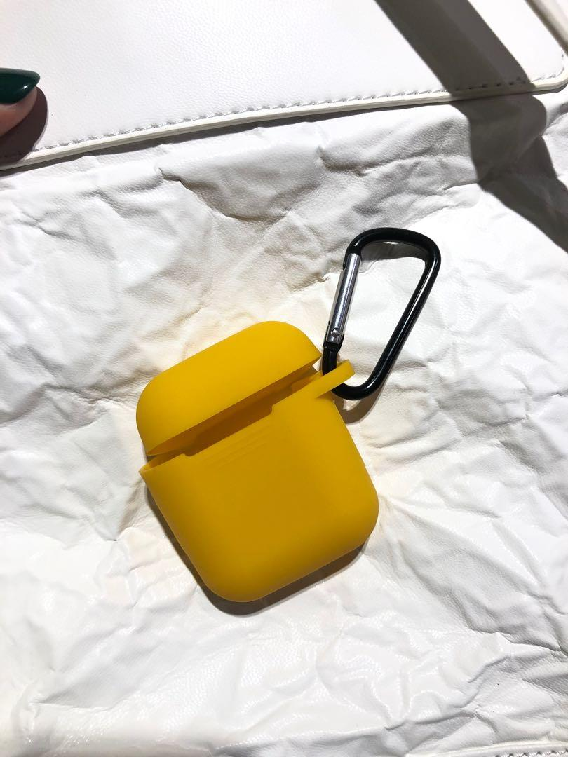 黃色 airpods套