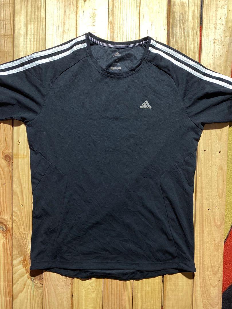 Adidas kaos hitam