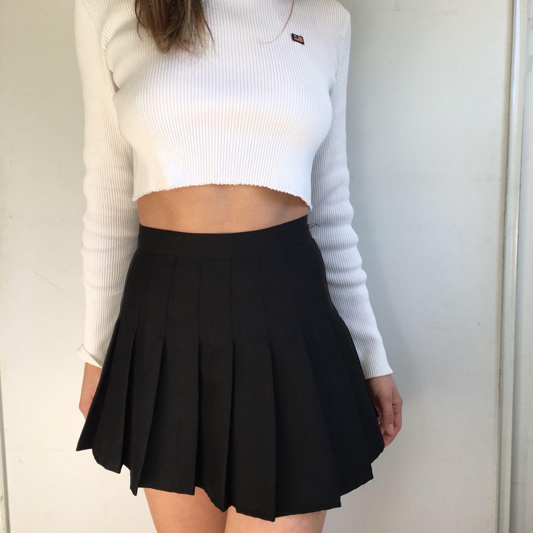 American apparel tennis skirt size small