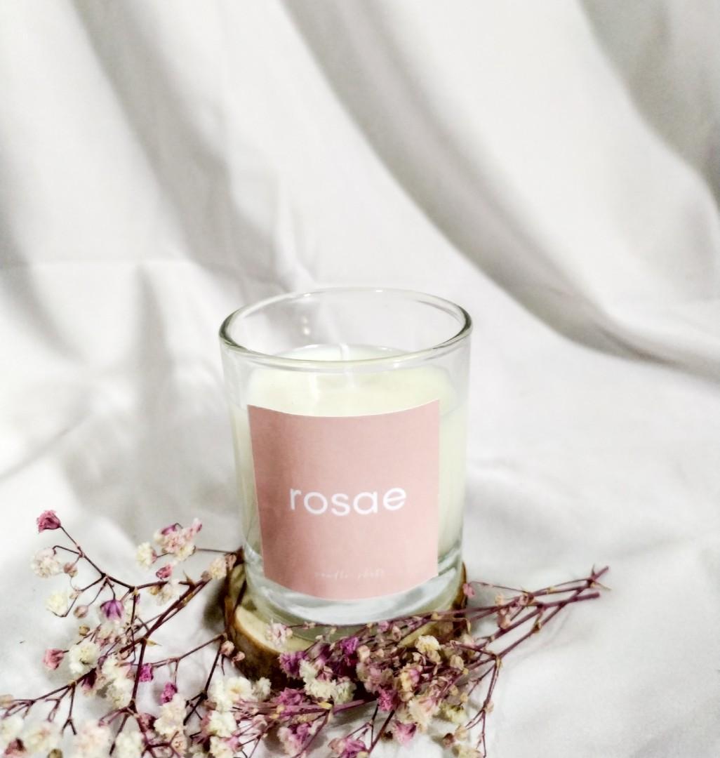 #carousell99 Candle Shots Lilin Aromaterapi Aroma Honey Rose 60 gram
