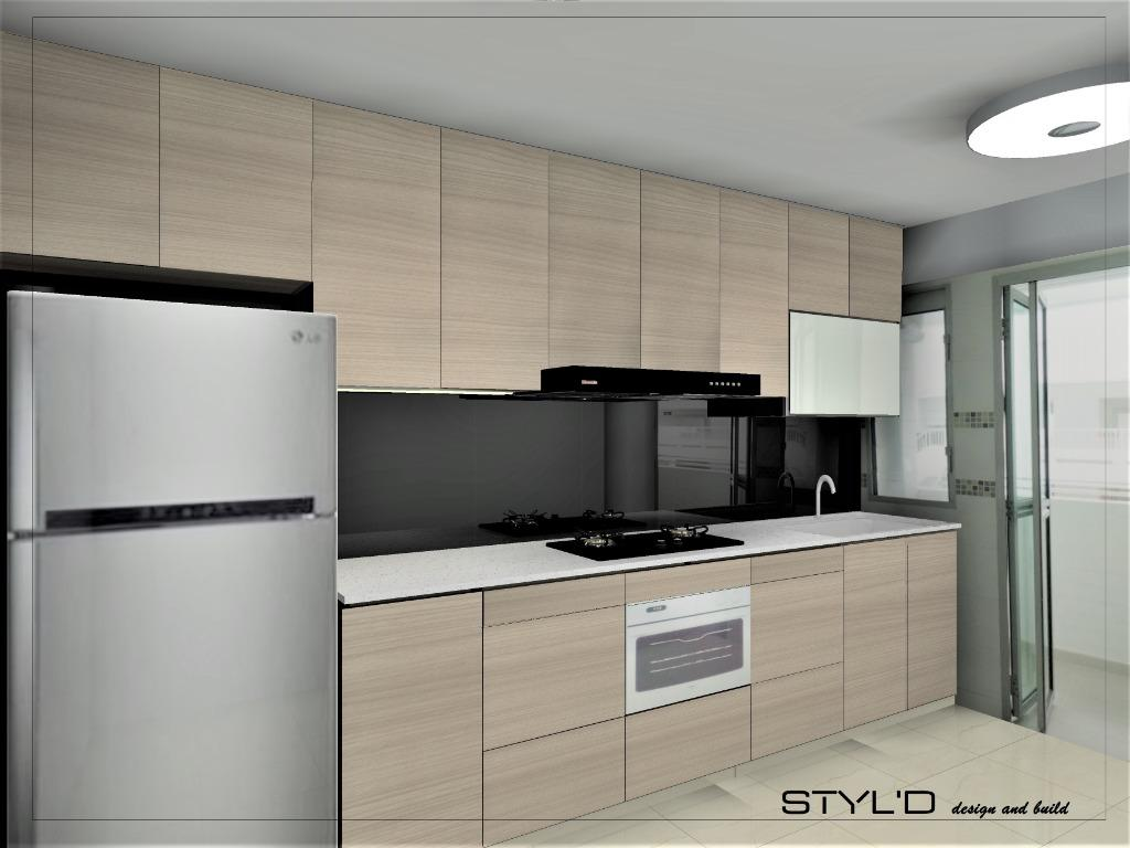 Bto Kitchen Premium Package With All Kitchen Appliances We Set Up Your Kitchen Like Condo Home Services Renovations On Carousell