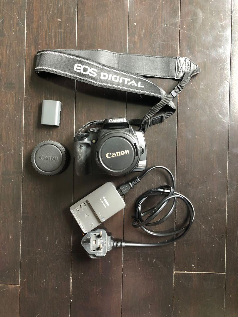 Canon rebel XTi 400D DSLR Camera