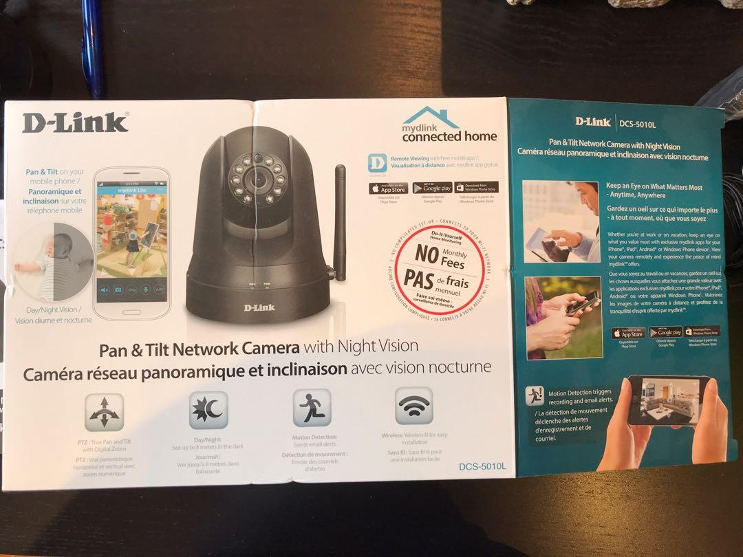 Dlink camera with night vision