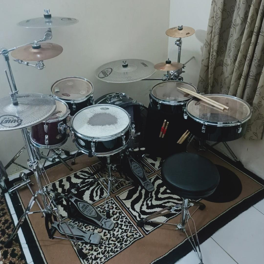 Drum Set Pearl Traveller Discontinued