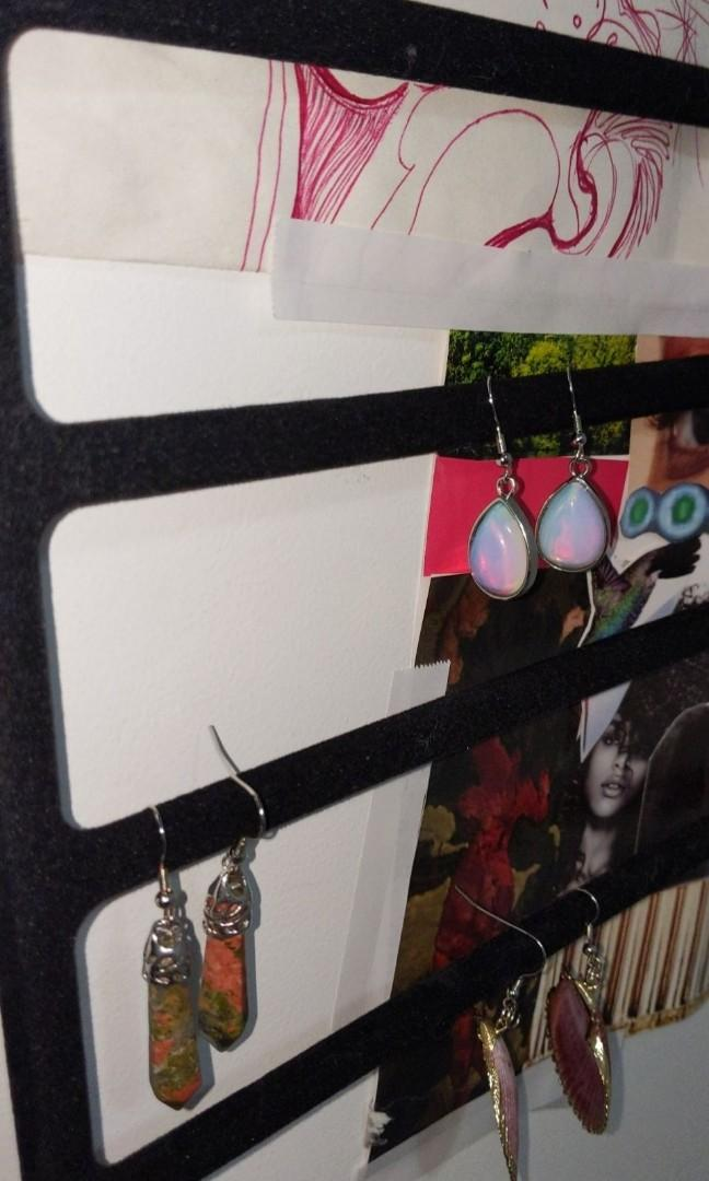 HMP for authentic crystal earrings!!