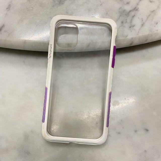 太樂芬手機殼i11(白紫)