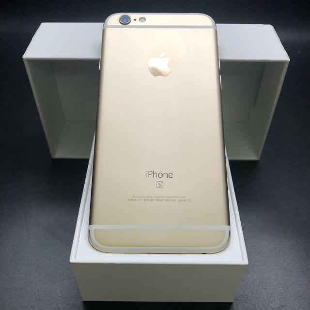 iPhone 6s 64g champagne gold battery 95% with charger #7223 IOS: 13.5.1