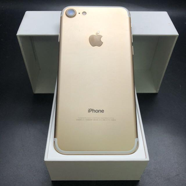 iPhone 7 256g champagne gold battery 90% with charger #0528 IOS: 13.4.1