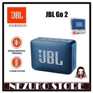 JBL Go 2 Portable Bluetooth Speaker Navy