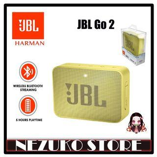 JBL Go 2 Portable Bluetooth Speaker Yellow