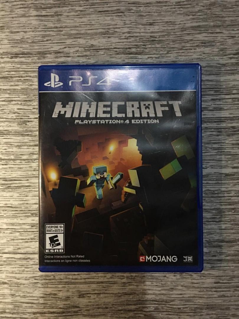 Kaset PS 4 Minecraft