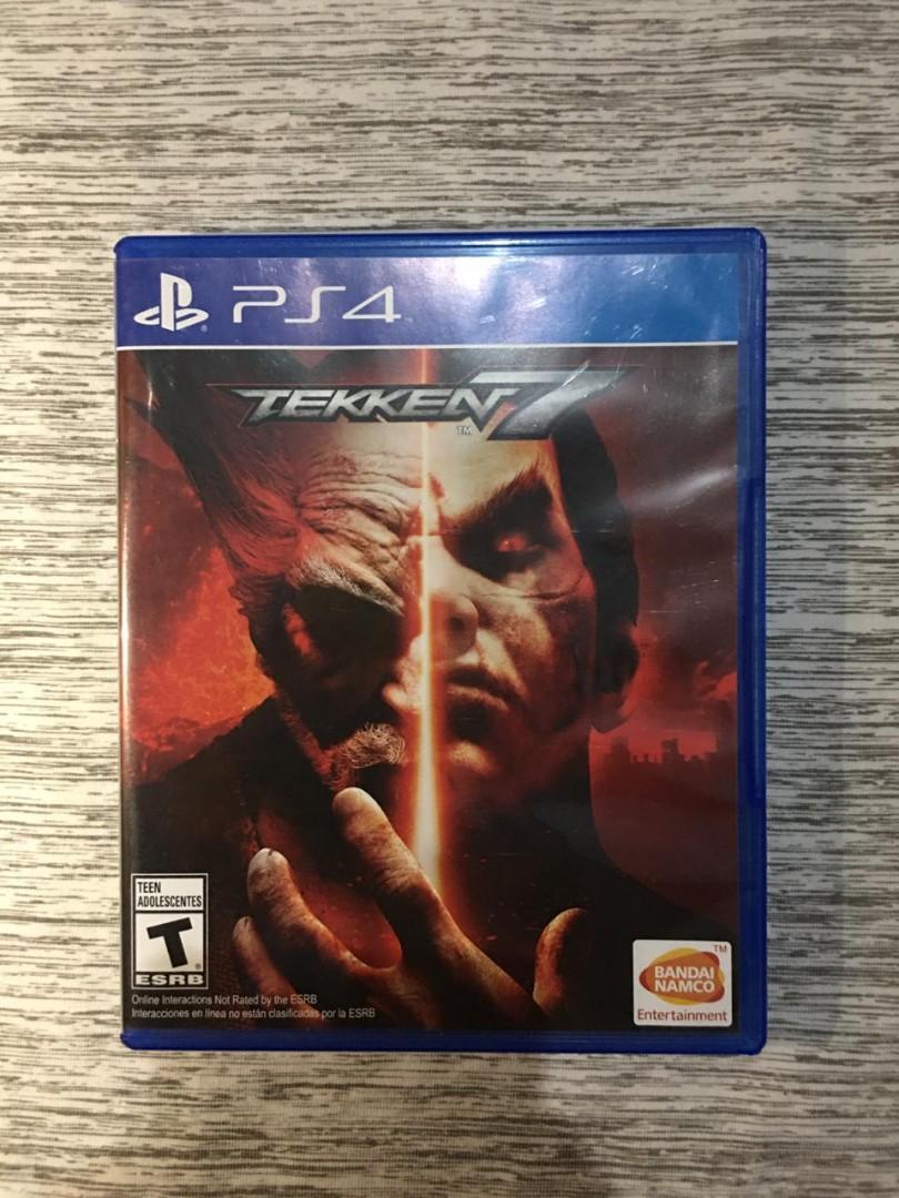 Kaset Tekken 7 PS 4