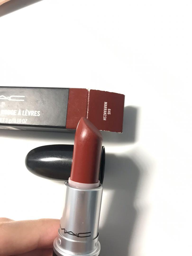 Mac Matte Lipstick Marrakesh