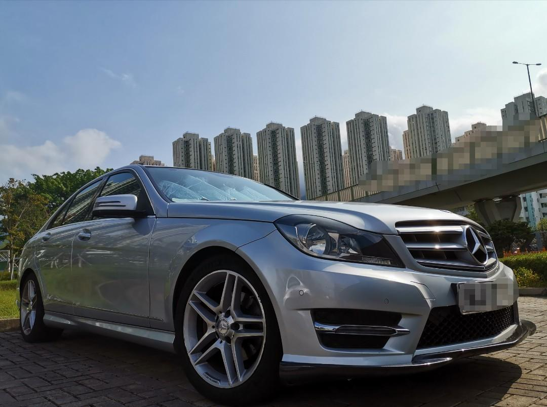 Mercedes-Benz C200 BlueEfficiency 7G-Tronic Auto