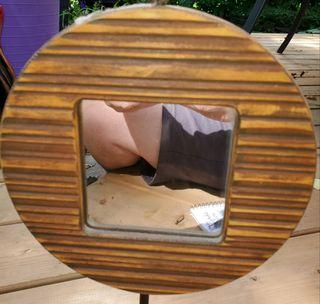 Mirror and Card Holder