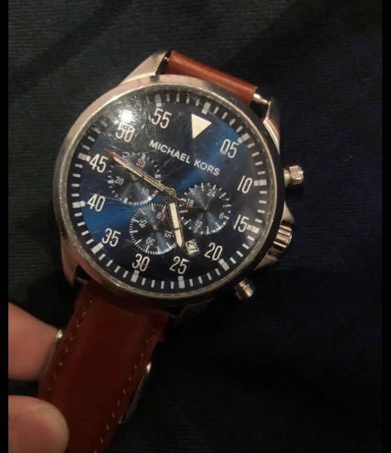MK錶芯 很有質感只賣錶芯 錶鏡小刮傷電池要換當初買4000多1000直接出