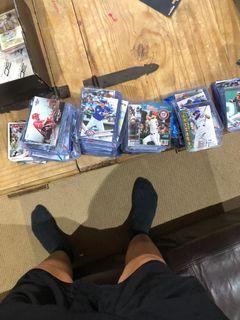 MLB baseball cards over 450