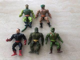 MOTU Master of the Universe 80s LOT of 5 Figures
